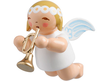 6307-36 Marguerite Angel with Trumpet Ornament from Wendt and Kuhn