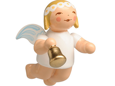 6307-53 Marguerite Angel with Bell Ornament from Wendt and Kuhn