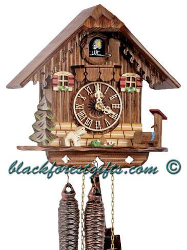 85-9 Chalet 1 Day Cuckoo Clock