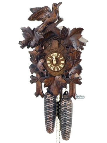 8T100-9 8 day Anton Schneider 5 Leaf German Cuckoo Clock