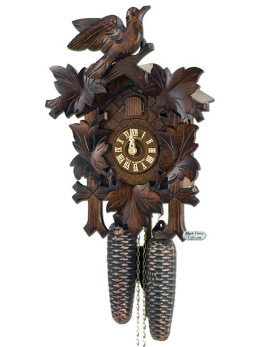 8T90-9 8 day Anton Schneider 5 Leaf German Cuckoo Clock