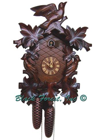 8T102-9 Anton Schneider 8 Day Cuckoo Clock