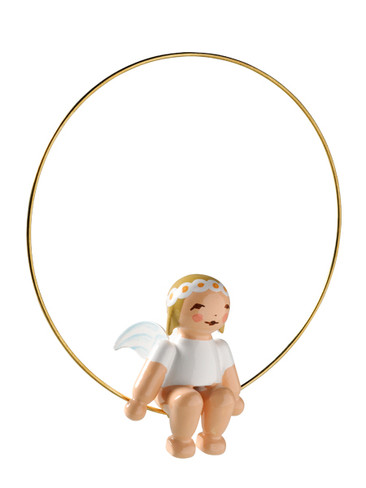 6308 Marguerite Angel in Ring Ornament from Wendt and Kuhn