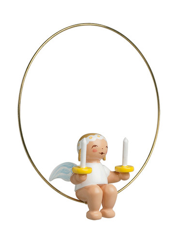 6308-20 Marguerite Angel with Candles Ornament from Wendt and Kuhn