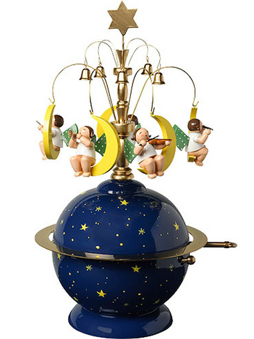 5336-9a Wendt and Kuhn Angel Globe Music Box