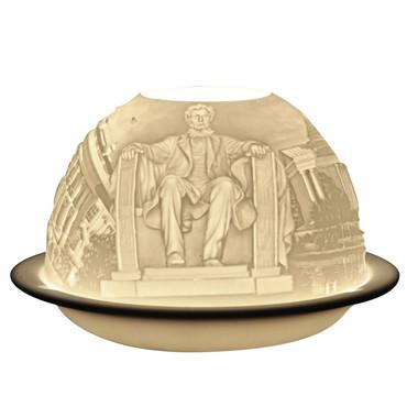 2844 Bernardaud Washington DC Lithophane Votive Candle
