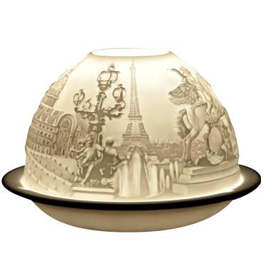 5547 Bernardaud Paris Monuments Lithophane Votive Candle