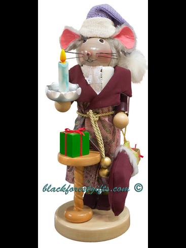 S1932 Steinbach Night Before Christmas Mouse Nutcracker
