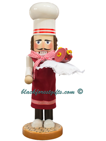 S1956 Steinbach Christmas Chef Nutcracker