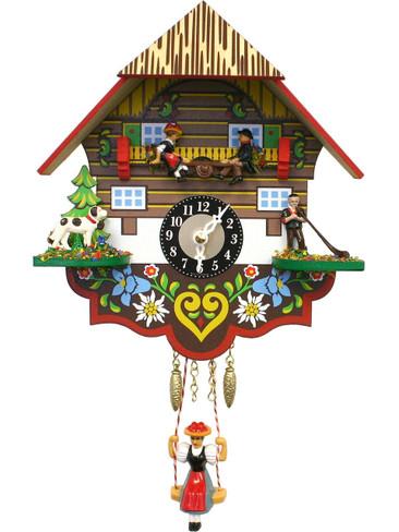 193KSQ Quartz See Saw Miniature Clock