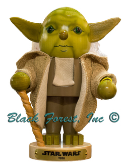 Steinbach Star Wars Yoda and Darth Vader