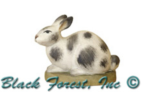 79710-93 Anri 3 Inch Kuolt Painted Spotted Rabbit
