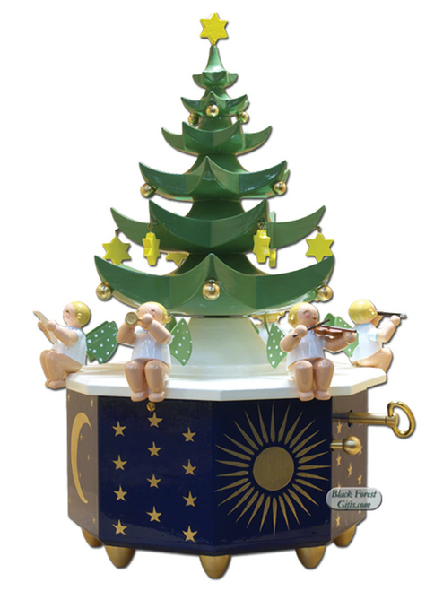 5336-1A Wendt and Kuhn Christmas Angel Tree Music Box