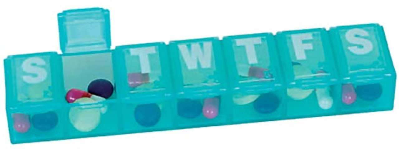 7 Day Pill Organizers in 4 sizes