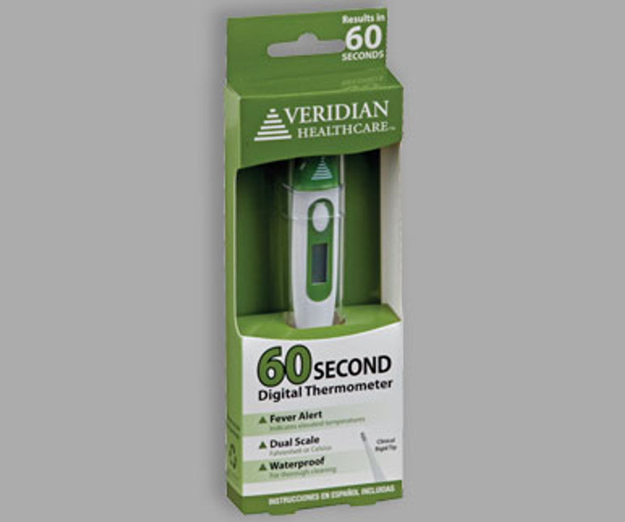 Veridian Healthcare 60 Second Digital Thermometer