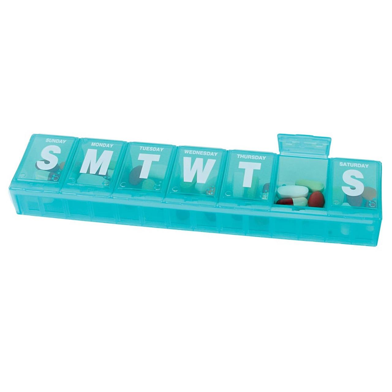 Locking Weekly Pill Organizers- Large, XXL, 3XL