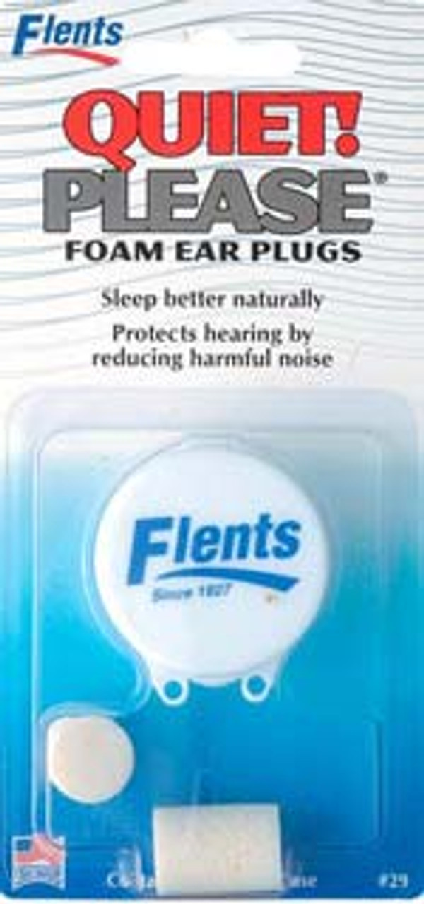 Foam Ear Plugs with Case