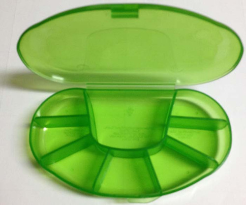 8 Compartment Vitamin Container Bonus Size
