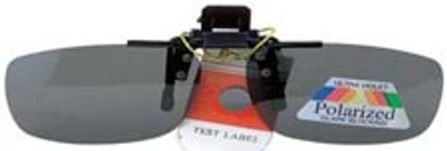 Sunglasses Clip on Polarized Rectangular UV400 1.1mm Lenses