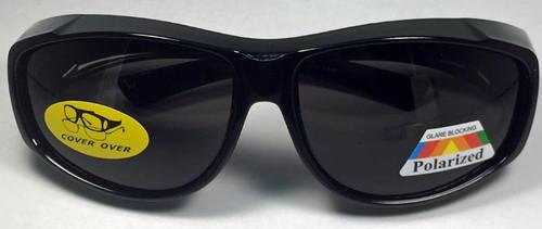 Sunglasses Cover Over Polarized Lenses Dark