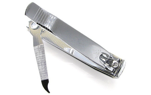 Hard to find straight cut toenail clipper.