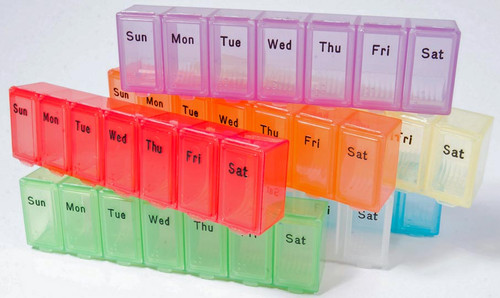 Extra-Large Weekly Pill Box