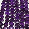 Dyed Purple Zuni Bear Bead | 13 x 18