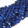 Dyed Royal Blue Zuni Bear Bead | 13 X 18 mm