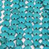Turquoise Zuni Bear Bead (DYED)   13 X 18 mm