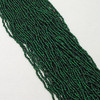 Dark Green #11 seed bead | Silver Lined