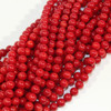 Red Coral 8mm Rounds