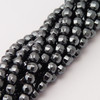 Hematite Faceted 6mm ball