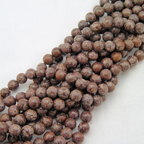 Brown Snowflake Obsidian | Rounds