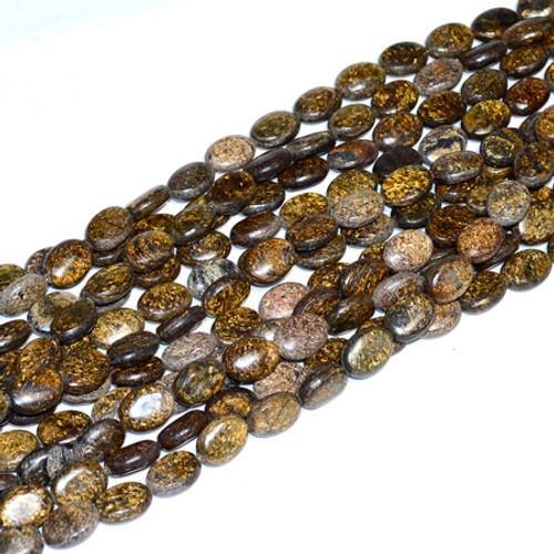 Bronzite Ovals 12x15mm Beads