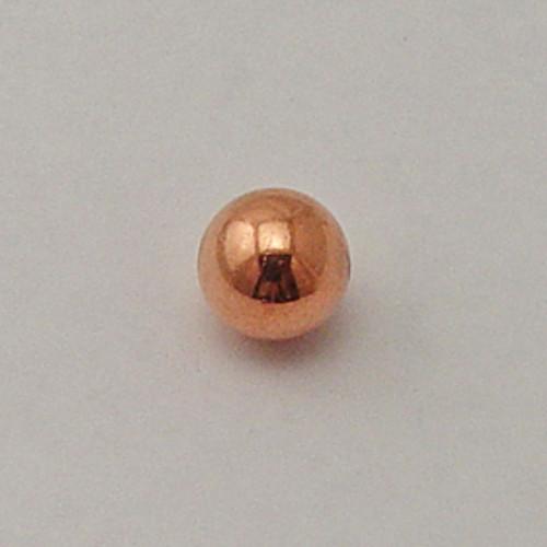 Copper, 12mm Round Bead