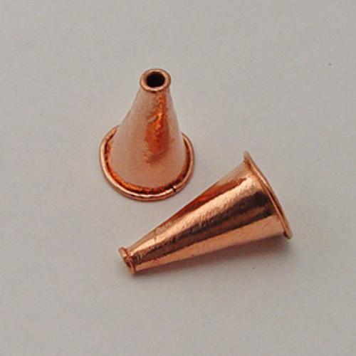 Copper, 15x26mm Cone