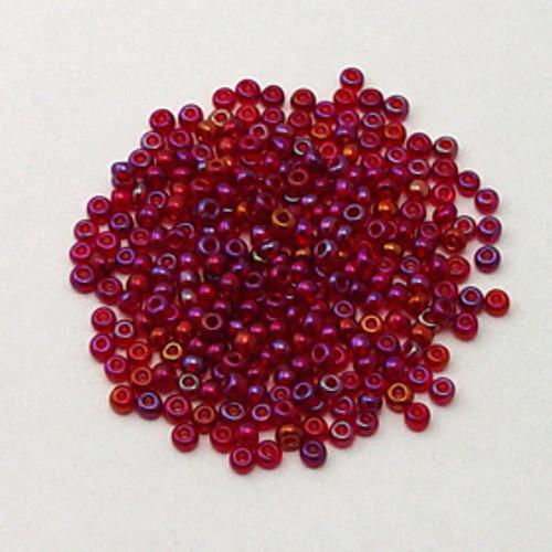 Red, Transparent Iris