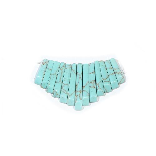 Kingman Turquoise (imitation) Mini Fans