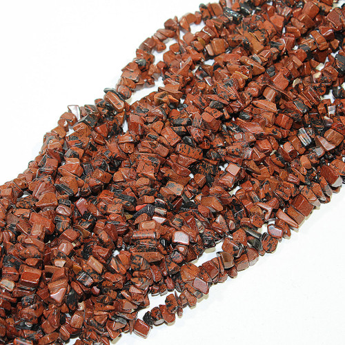 Mahogany Jasper Beads | Chips