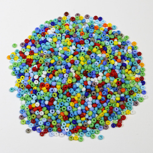 Seed Beads #10 multicolor | 1/2 kilo | Unstrung