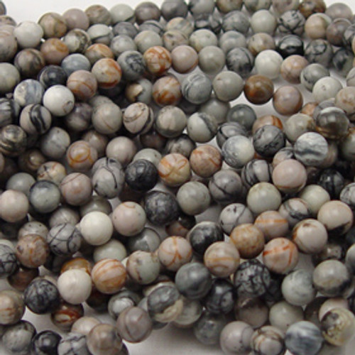 Picasso Marble Rounds Beads