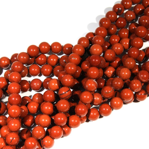 Red Jasper Rounds | 10 mm