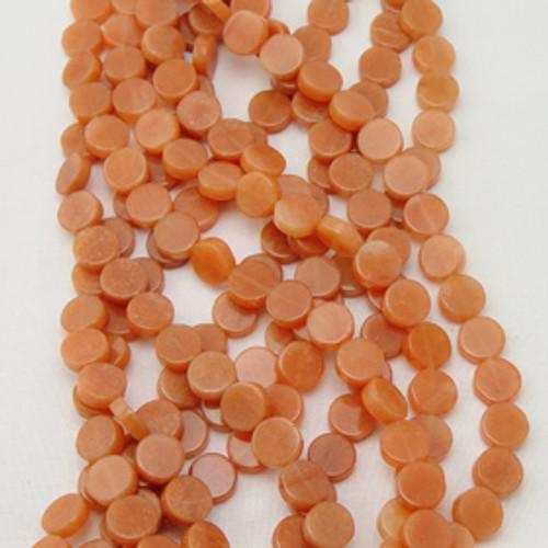 Red Aventurine Coins | 10 mm