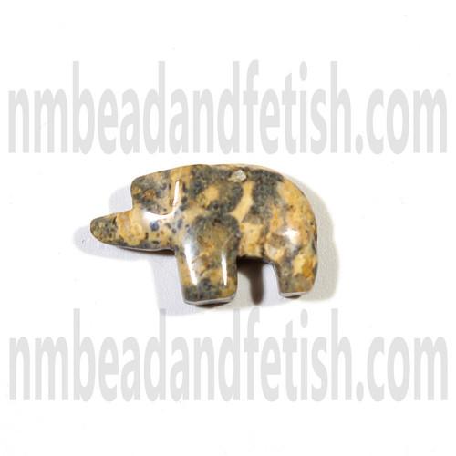 Leopard Skin Jasper Bear Bead