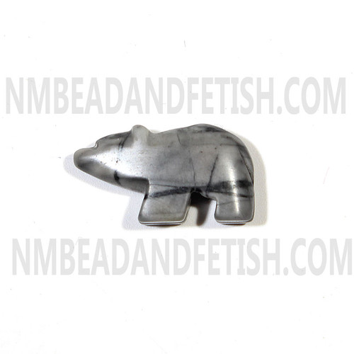 Picasso Marble Bear Bead
