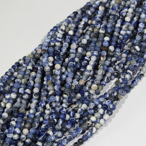 4mm Sodalite Rounds