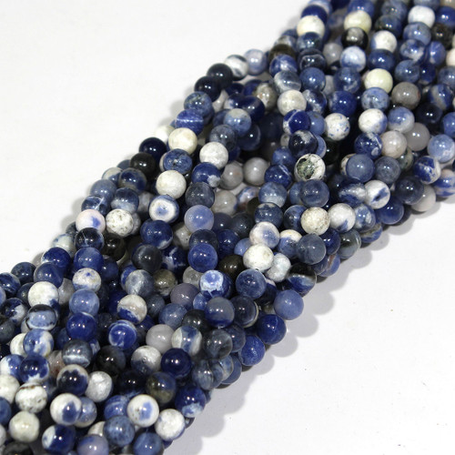 6mm Sodalite Rounds