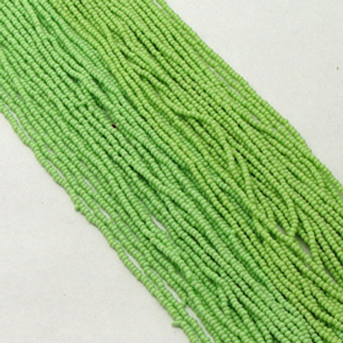 Pale Green #11 seed bead | Opaque