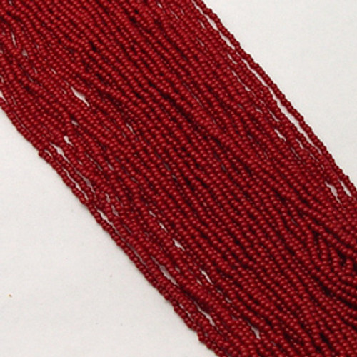 Dark Red #11 seed bead | Opaque