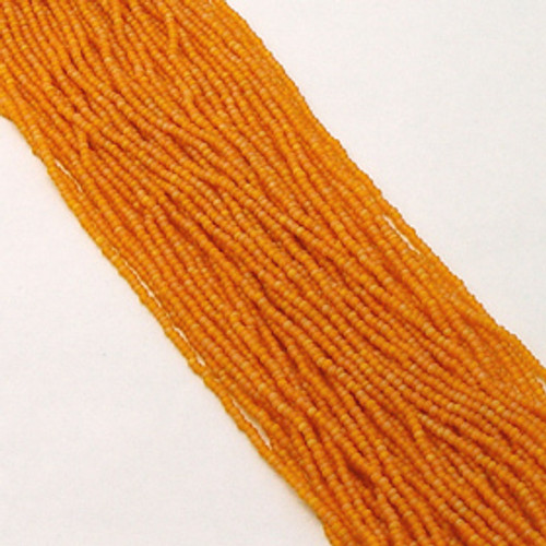 Light Orange AB #11 seed bead | Matte
